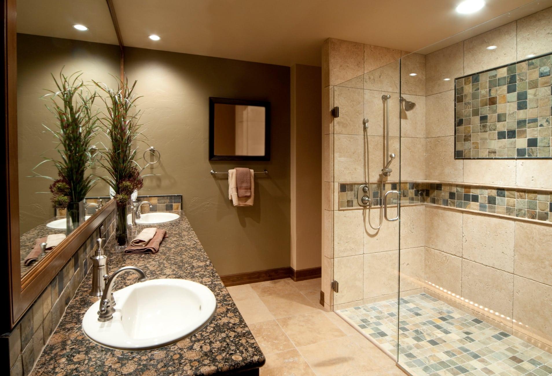 modern bathroom remodeling Lincolnshire